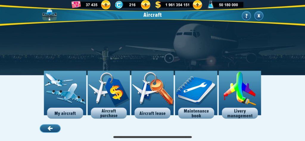 Maintenance: how to improve my aircraft? – Airlines-Manager Help