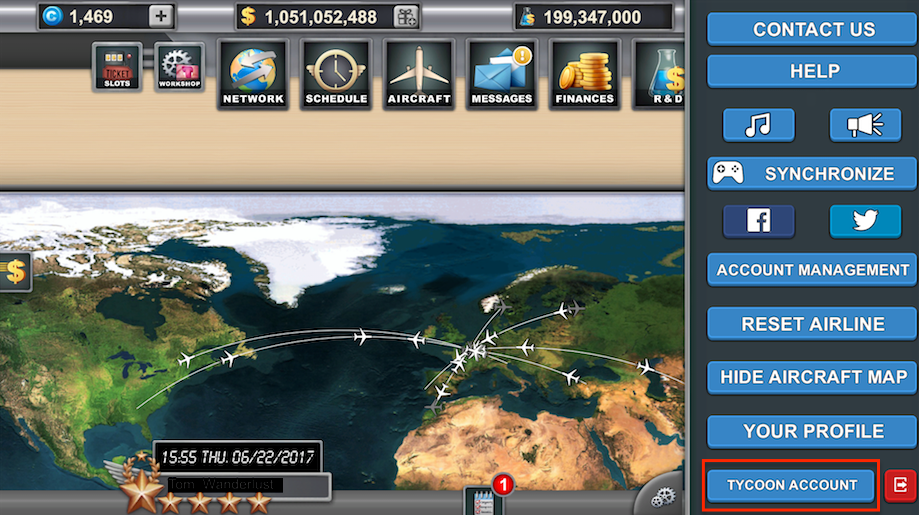 Airlines Manager: Tycoon – Airlines-Manager Help
