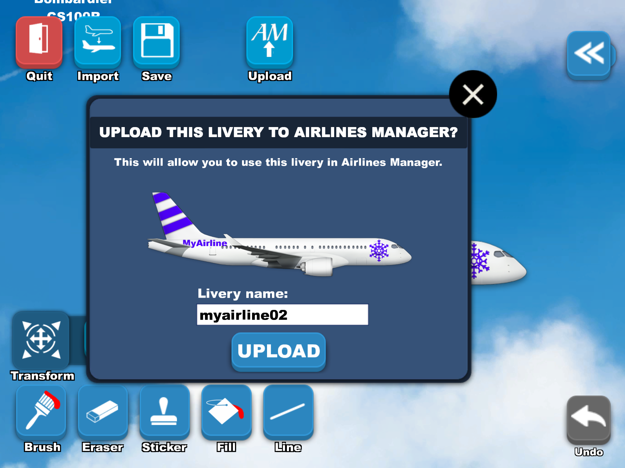 Livery Market – Airlines-Manager Help